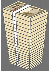 お金タワーのバナー